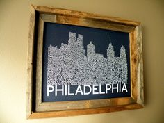 Philadelphia+Skyline+Word+Art+Print+by+fortheloveofmaps+on+Etsy,+$22.00