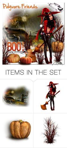 """""""Happy Halloween Polyvore Friends"""" by wanda-india-acosta ❤ liked on Polyvore featuring art"""