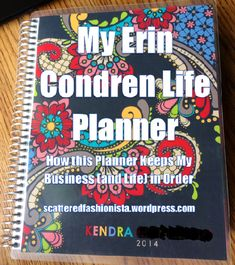A Walk through My Erin Condren Life Planner: How this Planner Keeps My Business (and Life) inOrder - ScatteredFashionista #eclifeplanner14