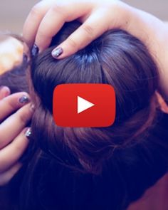 If you're looking for a quick and easy DIY hairstyle, we've got just the thing for you. Watch this how to make a donut bun video and get ready to rock! Donut Bun Hairstyles, Wedding Bun Hairstyles, Diy Hairstyles, Pretty Hairstyles, Romantic Hairstyles, Doughnut Bun, Hair Donut, Ballerina Hair Buns, Fine Hair Tips