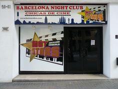 Letreros en barcelona
