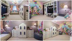 Дизайн детской комнаты - 7 забавных вариантов