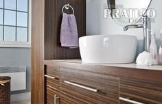 Le zebrano pour la salle de bain