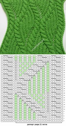 Der Neue pattern 346 braids with patent pattern Lace Knitting Patterns, Knitting Stiches, Cable Knitting, Knitting Charts, Lace Patterns, Knitting Designs, Crochet Stitches, Hand Knitting, Stitch Patterns