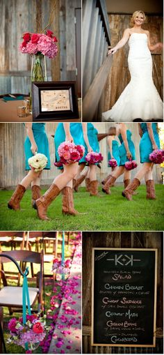 Love the color scheme and the cowboy boots!