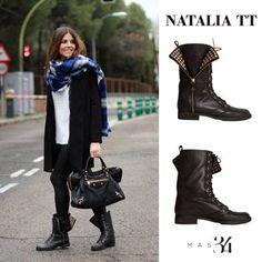 Bota Natalia TT piel negra MAS34 http://www.mas34shop.com/tienda/natalia-trendy-taste/