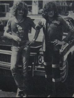 David Byron and Gary Thain