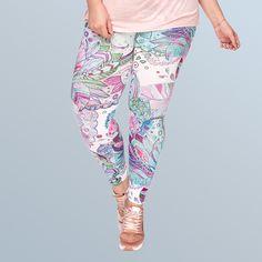 Larace Floral Leggings High Waisted Fashion Ultra Soft Leggings Women Plus Sizes Leggings Sale, Skirt Leggings, Floral Leggings, Tight Leggings, Printed Leggings, Workout Leggings, Leggings Are Not Pants, Soft Fabrics, Tights