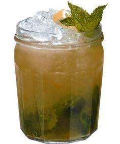 Louisianna Jam:  Ingredients:  35ml Southern Comfort  20ml lemon juice  20ml apple juice  2 teaspoons of apricot jam  8 mint leaves  15ml sugar syrup