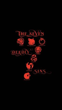 The seven deadly sins Seven Deadly Sins Anime, Seven Deadly Sins Tattoo, Otaku Anime, Manga Anime, Meliodas Vs, Arte Ninja, Seven Deady Sins, 7 Sins, Cute Anime Wallpaper