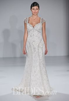 Maggie Sottero Wedding Dresses Fall 2014 Bridal Runway Shows Brides.com | Wedding Dresses Style | Brides.com