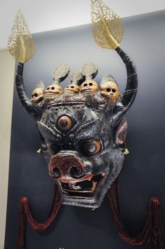 tibetan masks | Tibetan Mask 1 | Flickr - Photo Sharing!