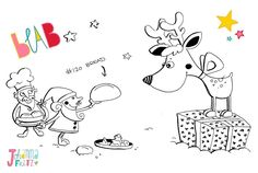 Doodle 120/365 (Bread) was created live on Blab at our #illubabble (see post this morning). The viewers suggested us to draw Christmas stuff. As always I wanted to combine my doodle topic of the day  So here we go: a bread for the reindeer   And now I am off and catch some sleep. The next days will be exhausting but sooooo good.  by byjohannafritz