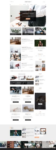 Zone7 - An Elegant And Modern Blog PSD Template #article #blog #blog post • Download ➝ https://themeforest.net/item/zone7-an-elegant-and-modern-blog-psd-template/19509675?ref=pxcr