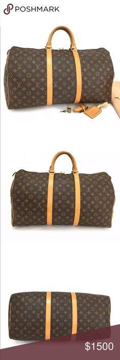 23f52ce5c245 Auth Excellent Cond. Louis Vuitton Keepall 50 Adorable in 9 10 excellent  condition.