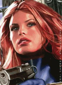 Black Widow, comic to movie. I find myself suddenly wishing that Scarlett's hair was longer, though ultimately I'm not that upset cause Black Widow/Scarlett is awesome no matter what.