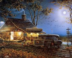 Autumn Traditions by Terry Redlin