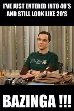 Bazinga!you go jim parsons