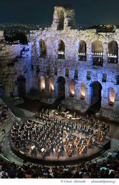Herodion Atticus theatre - Athens, Greece