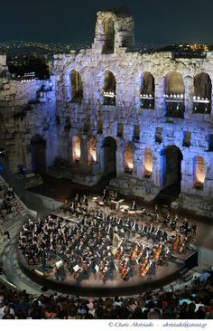 Odeon of Herodes Atticus - Athens, Greece