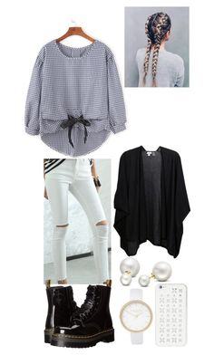 """""""..."""" by filipa-oliveira-lipa ❤ liked on Polyvore featuring River Island, Allurez, Dr. Martens, MICHAEL Michael Kors and Kinross"""