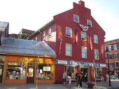 #1 Montpelier Vermont Best Small Town Downtown
