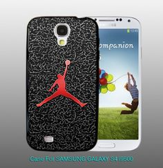 Nike Air Jordan Basketball - design for Samsung Galaxy S4 Black case | DreamCase - Accessories on ArtFire