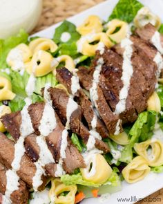 Steak and Tortellini