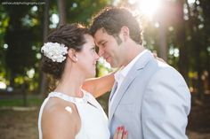 Intimate backyard wedding on Lake Wylie in River Hills! Alisha Rudd Photography, www.alisharuddphotography.com