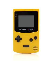"""nice Best seller GB Boy Classic Color Colour Handheld Game Console 2.7"""" Game Player with Backlit 66 Built-in Games_Yellow Check more at http://amazonshopings.com/amazon-shopping/video-games-amazon/best-seller-gb-boy-classic-color-colour-handheld-game-console-2-7-game-player-with-backlit-66-built-in-games_yellow/"""