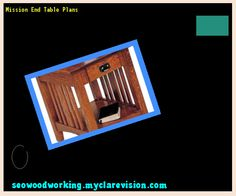 Mission End Table Plans 203255 - Woodworking Plans and Projects!