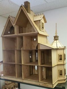 Ashley II Gothic Victorian Mansion Dollhouse Very Large Kit 1 12 Scale for sale online
