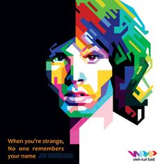 jim morrison in WPAP by IcalSaid
