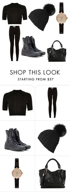 """""""Sierra"""" by hopecobb ❤ liked on Polyvore featuring River Island, Converse and Barbour"""
