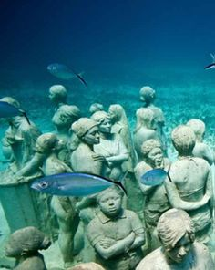 See more | Underwater museum on Isla Mujeres, Mexico: