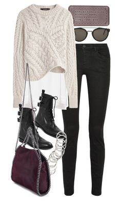 """""""Untitled #7722"""" by nikka-phillips ❤ liked on Polyvore featuring RetroSuperFuture, Marc by Marc Jacobs, Proenza Schouler, Isabel Marant, H&M and STELLA McCARTNEY"""