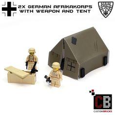 Produit Lego Ww2, Lego Military, Cool Lego, Lego Ideas, Lego Creations, Lego Star Wars, Legos, Toys, Activity Toys