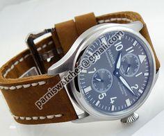 Parnis gray dial Big Pilot Power Reserve Chronomet - Automatic - Parnis watch station