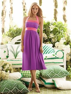 Animated Purple Party Dresses for Teenagers