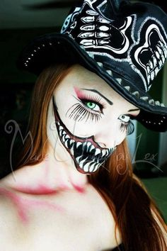 scary makeup http://www.youtube.com/user/MadeYewLook