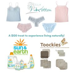 We've teamed up with Sun & Earth and Toockies for a $120 prize package of products safe for sensitive skin and the environment!