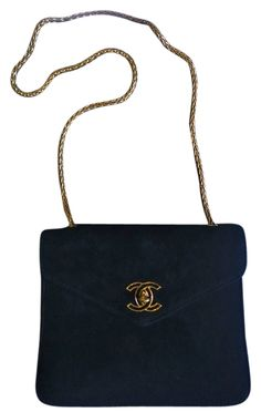 Chanel ~ Suede & Gold Chain Strap ~ (tres Rare!!!) Shoulder Bag. Get one of the hottest styles of the season! The Chanel ~ Suede & Gold Chain Strap ~ (tres Rare!!!) Shoulder Bag is a top 10 member favorite on Tradesy. Save on yours before they're sold out!