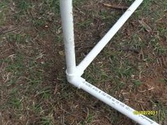PVC chicken tractor  Nice tutorial on building a lightweight movable pen.