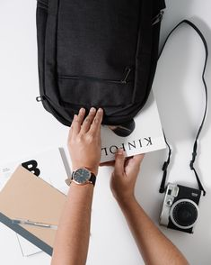A bag for any adventure. Black Linen, Traveling By Yourself, Minimalist, Backpacks, Adventure, Bags, Handbags, Taschen, Fairytail