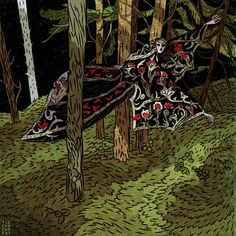 Tin can forest vampire