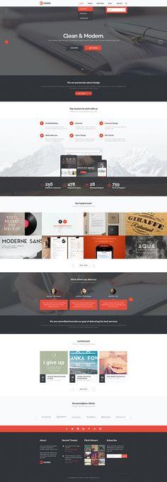 Marble - Multipurpose PSD Template on Web Design Served