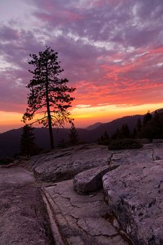 Beetle Rock Sunset #2, Sequoia National Park