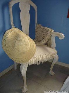 Muebles restaurados al más puro estilo Shabby Chic