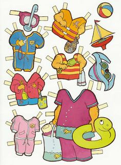 The Berenstain Bears Paper Dolls.This From Lucinda Great - MaryAnn - Picasa Web Albums