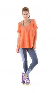 Ankle Length Leggings, Casual Wear, Activewear, Sportswear, Health Fitness, Neon, Training, Detail, Healthy